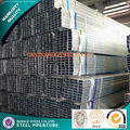 pre galvanized square steel tubings made in china