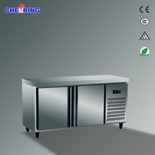 Stainless Steel Material and Auto-Defrost Defrost Type under counter refrigerator