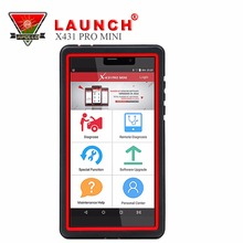 100% Original Launch Pros MiNi X431 competitive diagnostics codes Online Update from X431 V OBD2 emissions Analyzer for Full Sys