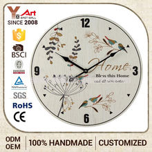 High Standard Vintage Design Custom Tag French Country Tuscan Style Hospital Wall Clock