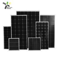 2018 high quality mono solar panel OEM 1w 50w 100w 150w 200w 300w 350w 400w 500w high efficiency pv module for home system
