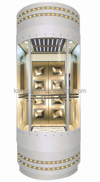 customzied german brand of 1000kg passenger elevator