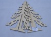 2017 custom wooden christmas tree, wood carving craft