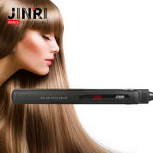 JIR-008 1 Inch Professional Hair Straightener ceramic custom flat irons with private label
