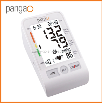 Pangao electronic upper arm blood pressure meter with CE FDA approval