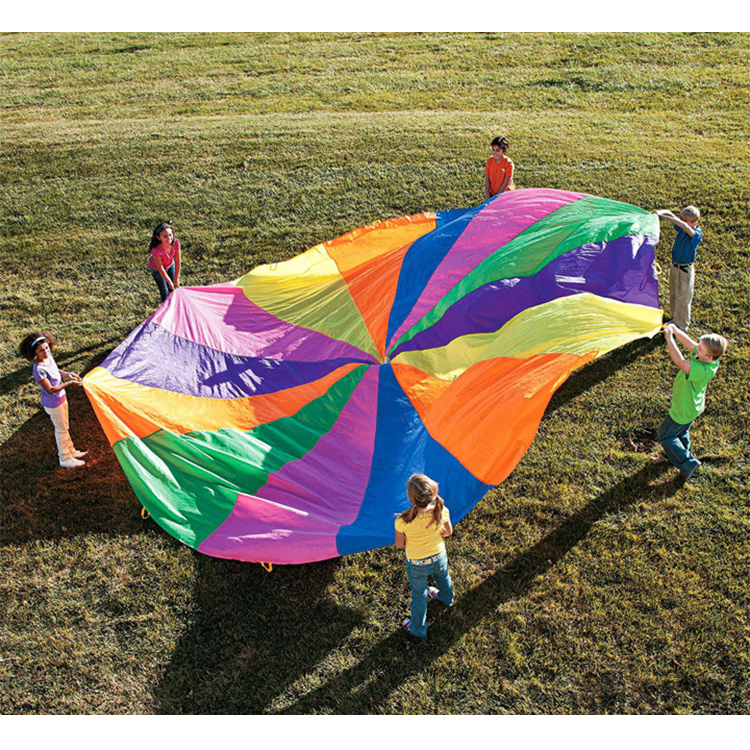 New outdoor fun promotional parachute <strong>toys</strong> with handle for kids