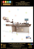 Automatic Self Adhesive Sticker Labelling Machine for Top and Side Label Application
