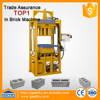 C25 concrete hollow block making machine price hollow blocks raw material