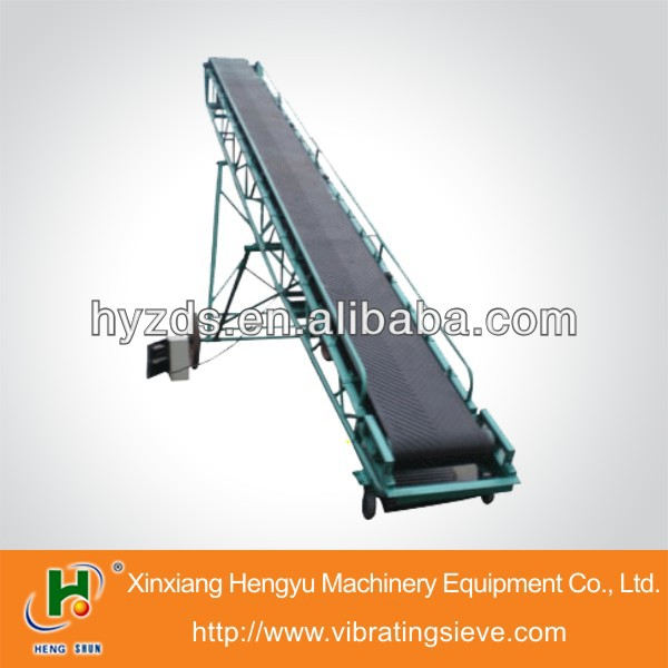 sawdust angle China belt conveyor
