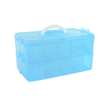 Professional made jumbo double-deck hand tool box