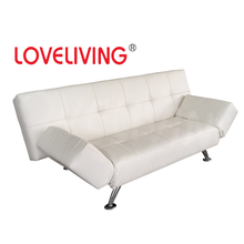 Living Room Furniture Metal Solf Folding PU Sofa Bed