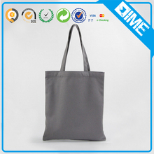 wholesale cheap grey plain canvas tote bag