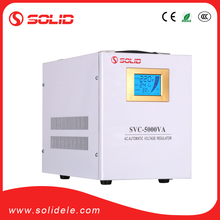 Solid electric single phase reguladores de voltaje de 5kw
