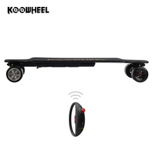 High speed 42KM/H 4 wheels electric off road skateboard powered longboard for Sale