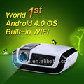 Hottes!!! Luxcine world 1st 1080p android 4.0 OS video projector