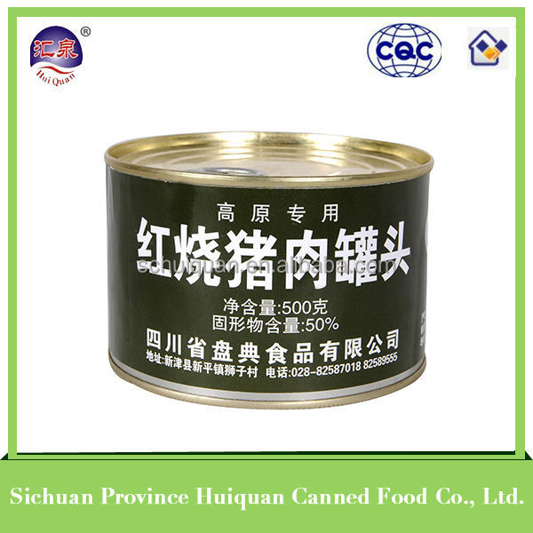 Wholesale goods from china food meat/canned food can