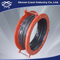 Rubber Expansion Joint with Swivel Flanges PN16