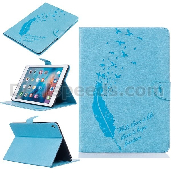 Wallet Style Flip Stand TPU+ PU Leather Case for iPad Pro 9.7