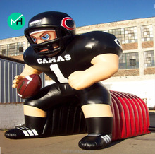 HOT SALE High Quality giant Cheap nfl inflatable player lawn figure for adult