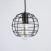 Restaurant Ancient Lamp Metal Iron Industrial Pendant Light Black