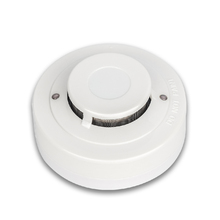 High Sensitivity Cheap OEM Accept 12V - 28V Hard Wired Photelectric Smoke Fire Alarm for Sale