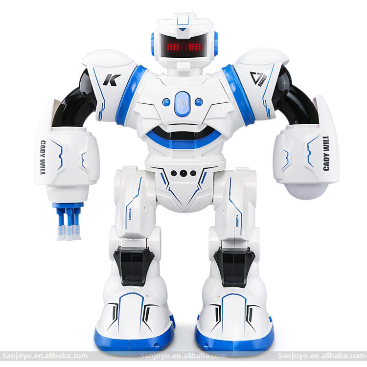 SJY-K1 CADY WILL Robot Toy PK JJRC R3 CADY WILL Gesture Sensor Control Intelligent Combat RC Dancing Robot Toy with LED Light
