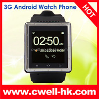 1.5 Inch ZGPAX S6 Watch Phone MTK6577 Dual Core RAM 512MB Android 4.0 WCDMA