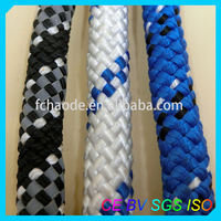 unique braided polyester/nylon sailing ropes marine lines for boat