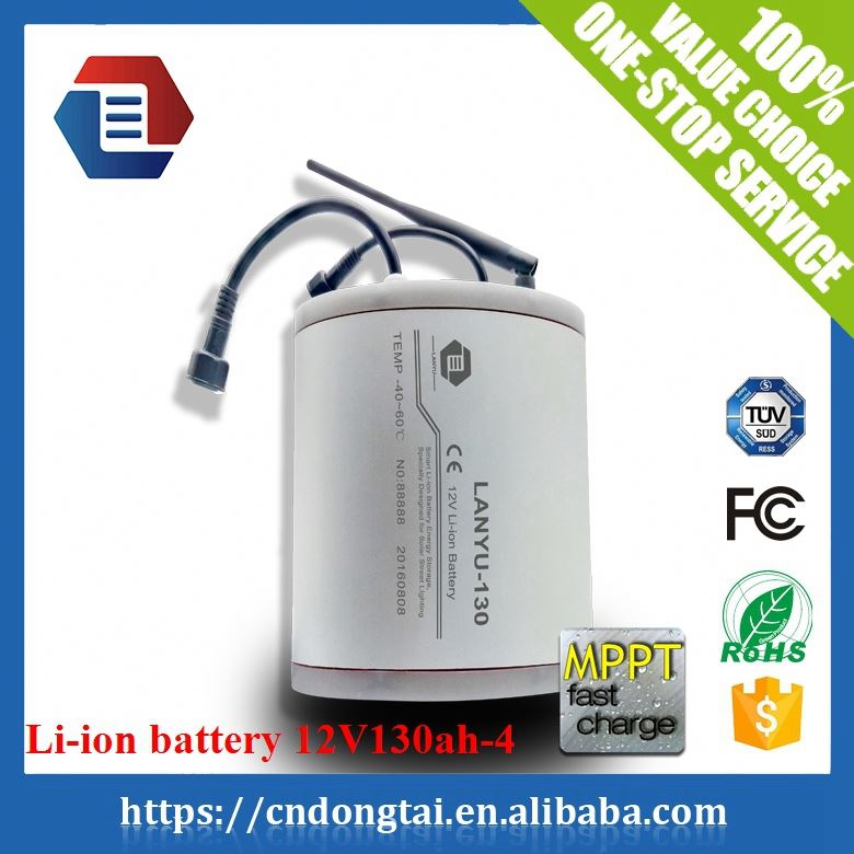 Portable Waterproof 12V 130ah lithium battery power box for Boating /LYLIBR12V130B563