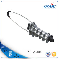 Overhead wire tension clamp/anchor clamp/YJPA 2000 dead end clamp
