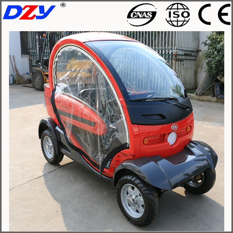 CE 2 seat mini EV electric 4 wheels battery car electric car for two passengers