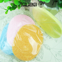 Zealhoney Face Powder Foundation Cosmetic Makeup Sponge Puff