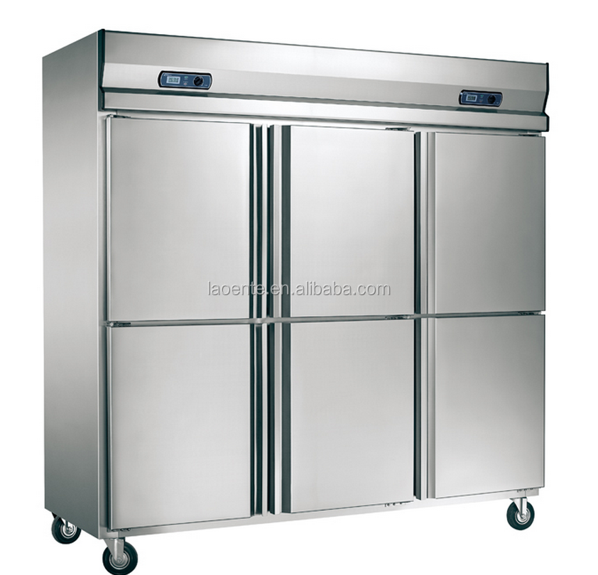 commercial refrigerator freezer/ Side by Side Refrigerator/single door cool freezer cupboard