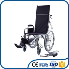 Factory direct supplier steel timefroof reclining self propel wheelchair