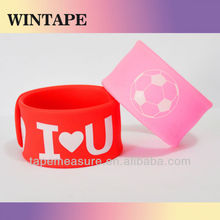 Custom colorful ruler slap bracelet under Your Design