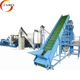 Plastic waste pet bottle flakes washing recycling drying granulating production line