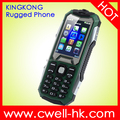 2.4 Inch QVGA Display Dual SIM Rugged Phone Mobile Kingkong G02