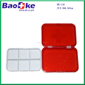 Wholesale Red plastic pill box medical box emergency box tablet case