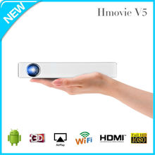 The best DLP projector with external battery ,support 1280*800 resolution phone projector and pocket business