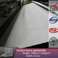 non woven water permeable geotextile fabric