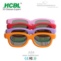 children digital 3d projector glasses cartoon 3d flashing glasses
