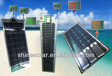 50W 18V , flexible thin film mono or poly solar panel