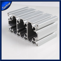 polished color coated aluminum extruded aluminum parts