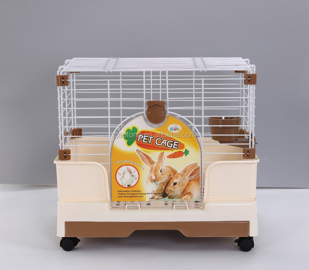 Metal Breeding Best Quality Folded Rabbit Cage Pet Products