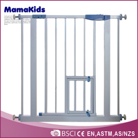 automatic pet safety gate, wholesale china cheap price metal door baby fence