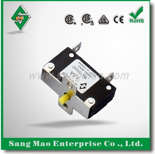 VDE/ CSA / CSA( C/US) Reset Thermal Electrical motor protection Overload Circuit Breakers