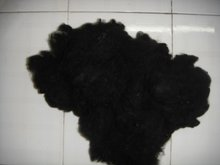 Black Recycle Polyester Staple fiber
