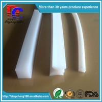Long Life And Aging-Resistant Clear Silicone Strip Extruded Silicone Seal Strip