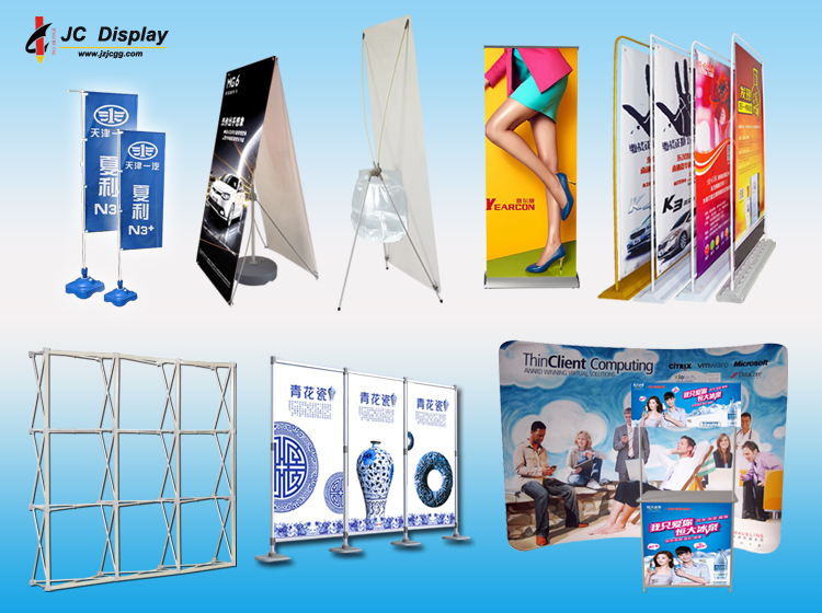 2017 JC aluminum retractable Pop up backdrop Stand