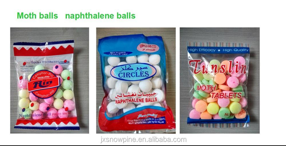 2017 naphthalene/ moth Balls in bulk 25kg/carton for drive away insects